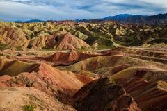 Zhangye Danxia Geological Park Stock Photography
