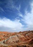 Zhangye Danxia landform Zdjęcie Stock
