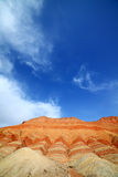 Zhangye Danxia landform Stock Images