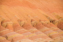 Zhangye Danxia landform wonders National Geopark Royalty Free Stock Photography