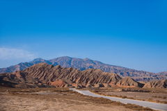 Zhangye Danxia landform wonders National Geopark Stock Images