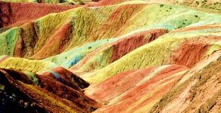 Zhangye landform. Eastphoto, tukuchina,  Zhangye landform, nature beauty Stock Photography