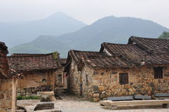 Zhangzhou ancient mountains heavy ancient houses Stock Image