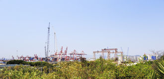 Zhangzhou port Royalty Free Stock Photography