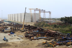 Zhangzhou port Stock Image