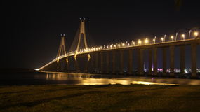 Zhanjiang zatoki most Zdjęcia Stock