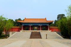 Zhao Ling Ming grobowowie fotografia royalty free