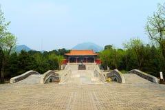 Zhao Ling Ming Tombs immagini stock libere da diritti