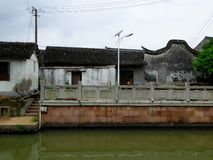 Zhaojialou ancient town house Royalty Free Stock Photography