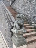Zhaoling mausoleum av Qing Dynasty Royaltyfri Foto