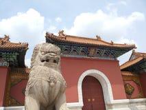 Zhaoling mausoleum av Qing Dynasty Arkivbilder