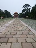 Zhaoling Mausoleum of the Qing Dynasty Stock Photography