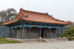 ZhaoLing Tomb building Royalty Free Stock Photos
