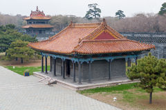 ZhaoLing Tomb buildings Royalty Free Stock Photography