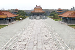 ZhaoLing Tomb courtyard Stock Images