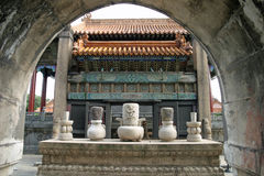 Zhaoling tomb Stock Photography