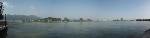 Zhaoqing, guangdong, China. Qixingyan scenery in zhaoqing, guangdong, China royalty free stock photos