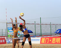Zhaoxin and zhuminmin pk wangjiaxi guotingyao Royalty Free Stock Photography