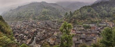 Zhaoxing Dong Village, Qiandongnan, Guizhou, China Stock Image