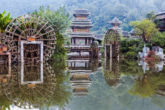 The village of the Guizhou Stock Images