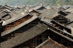Zhaoxing minority village in China Stock Photos