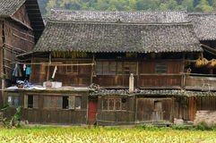Zhaoxing minority village in China Royalty Free Stock Photography