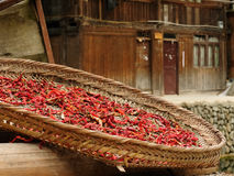 Zhaoxing minority village in China Stock Image