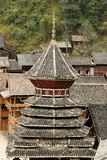 Zhaoxing minority village in China Royalty Free Stock Image