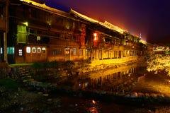 Zhaoxing-Stadt, Liping-Grafschaft, Guizhou, China. Zhaoxing Dong Village ist eins der größten Dong-Dörfer in Guizhou. Stockbild