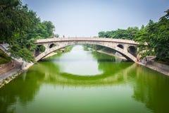 Zhaozhou-Brücke Stockbilder