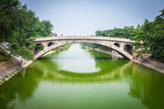 Zhaozhou Bridge Stock Images