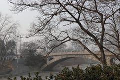 Zhaozhou bro Anji Brige Royaltyfri Bild