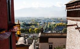 Zhashilunbu tempel, Tibet, Kina royaltyfri bild