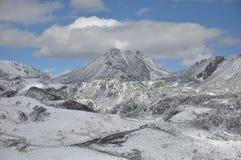 Zhe-duo snow mountain Stock Photo