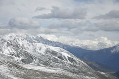 Zhe-duo snow mountain Stock Images