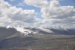 Zhe-duo snow mountain Stock Photos