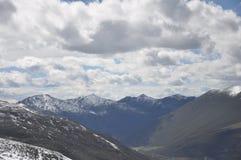 Zhe-duo snow mountain Royalty Free Stock Image