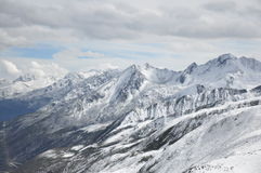 Zhe-duo snow mountain Royalty Free Stock Photography