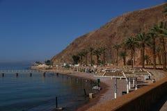 Zhe plaży Princess bardzo ładny Eilat Zdjęcie Royalty Free