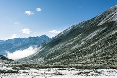 Zheduo mountain scenery Royalty Free Stock Images