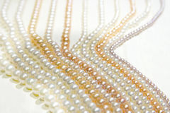 Zhejiang freshwater pearl jewelry Stock Image