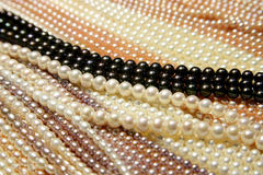 Zhejiang freshwater pearl jewelry Stock Images