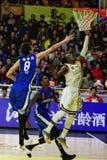 CBA LEAGUES FORTSON. Zhejiang guangsha mvp Royalty Free Stock Photo