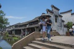 Zhejiang Huzhou Nanxun town stock images