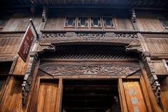 "Zhejiang Jiaxing Wuzhen East Gate Jiangnan hundred beds in the ""thousands of workers bed"" Royalty Free Stock Photography"
