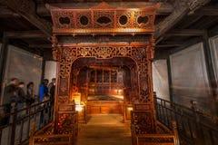 "Zhejiang Jiaxing Wuzhen East Gate Jiangnan hundred beds in the ""thousands of workers bed"" Royalty Free Stock Photo"