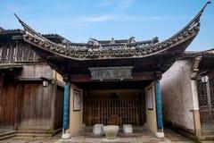 Zhejiang Jiaxing Wuzhen Xishan Images stock