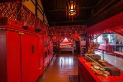 Zhejiang Jiaxing Wuzhen Xizhixing Pasillo Fotografía de archivo libre de regalías