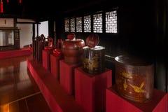 Zhejiang Jiaxing Wuzhen Xizhixing Pasillo Foto de archivo