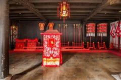 Zhejiang Jiaxing Wuzhen Xizhixing Pasillo Fotos de archivo libres de regalías